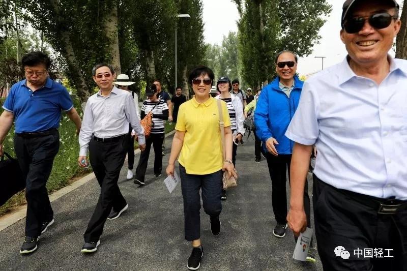 """中轻联、总社工会举行""""永远跟党走·轻工绿色行"""