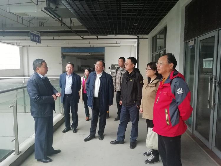 中国五金制品协会理事长赴江苏五金对象企业及